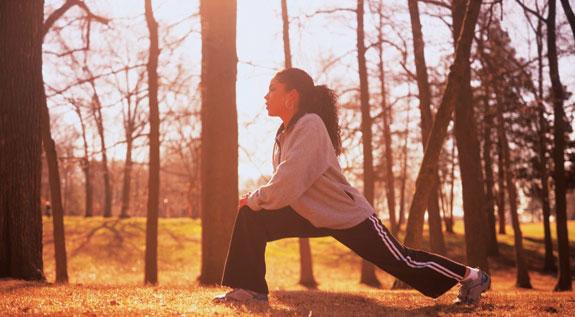 lady-outside-exercise