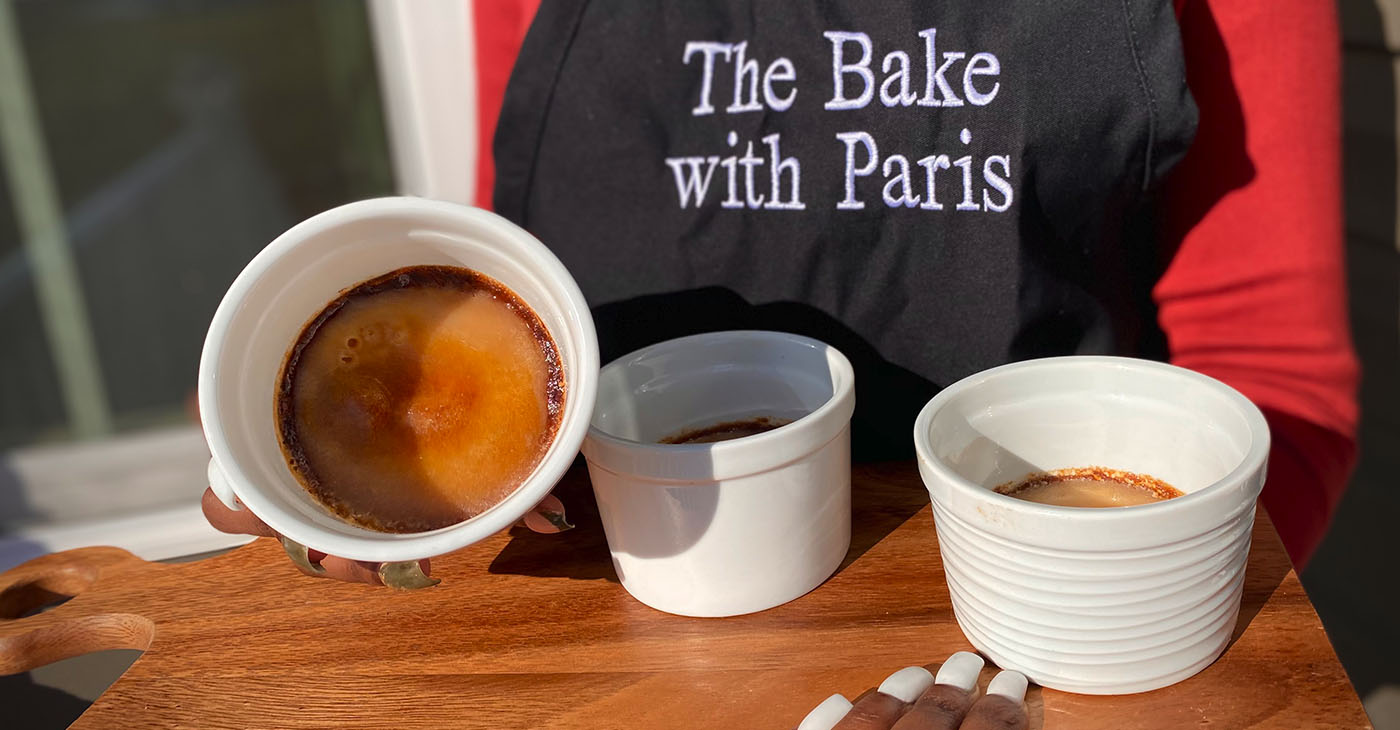 A fantastic sweet potato creme brûlée recipe that's easy and fun to make. Not to mention the fact that it's delicious!